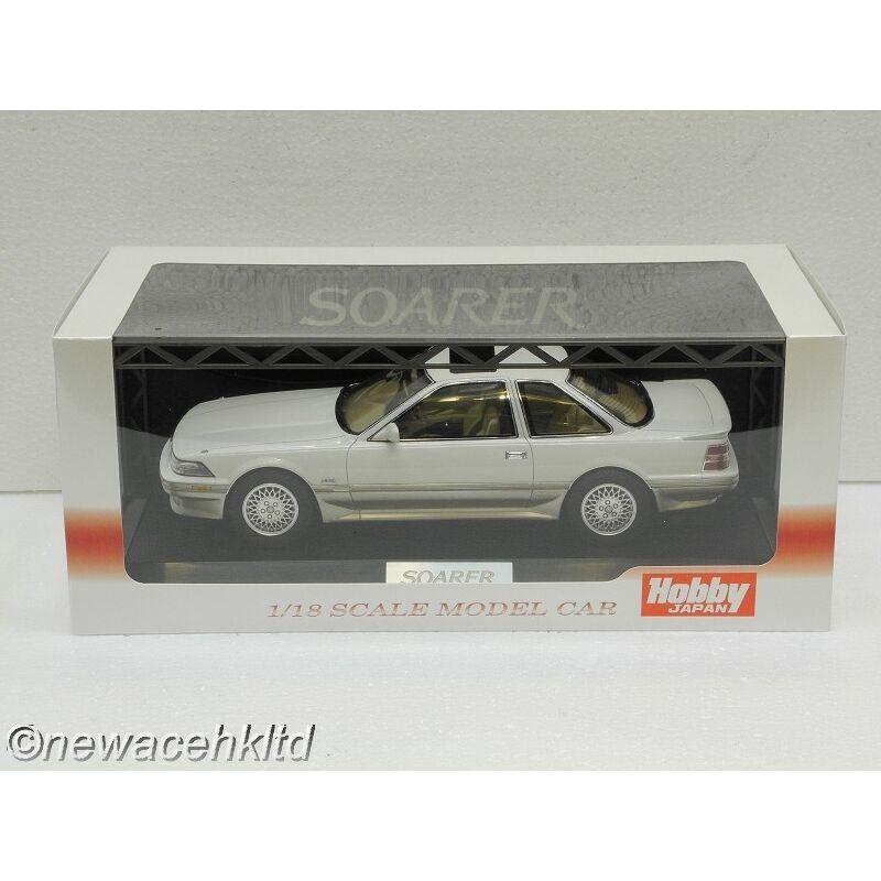 Toyota Soarer 3.0GT Limited (MZ20) 1988 Blanc Cristal Tonifiant Hobby Japan 1 18