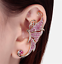 Fashion-Crystal-Clip-Ear-Cuff-Stud-Punk-Wrap-Cartilage-Earring-Women-039-s-Jewelry thumbnail 14