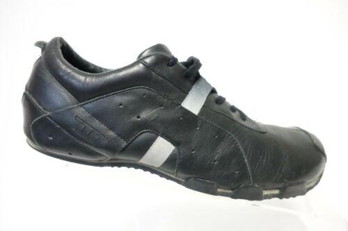 DIESEL Black Sz 9 Men Leather Oxfords