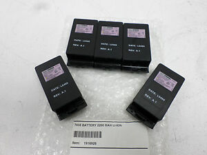 Lot-of-5-GENUINE-Psion-Teklogix-7035-Li-Ion-Batteries-7-4V-2200mAh-1916926