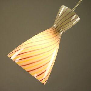 Pendel-Leuchte-Vigo-Peill-Putzler-Design-Aloys-F-Gangkofner-50er-Glas-Lampe