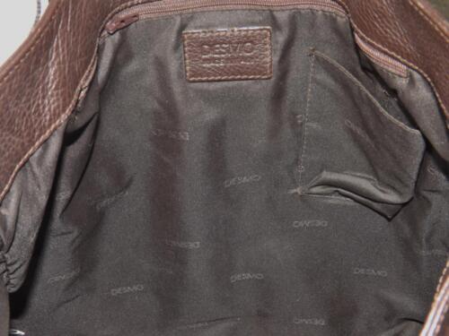 Brun Desmo Cuir Fin Galets 6x43 Sac 40 Grand Exc 2cm U5wfq5F