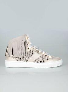 BOGNER New Salzburg 17 Damen Sneaker / Schuhe High-Top / Platin