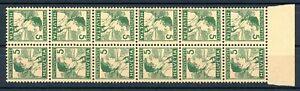 Schweiz-6-er-Str-Kehrdrucke-MiNr-K-9-postfrisch-MNH-MA760