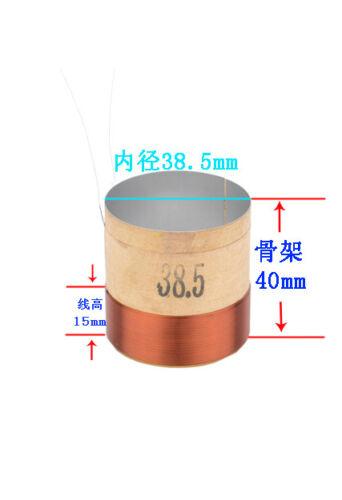38.5mm ASV copper wire white aluminum woof voice coil  for speaker DIY repair