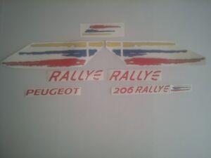KIT-COMPLET-Stickers-autocollants-Peugeot-206-RALLYE