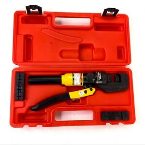 Central Hydraulics Wire Crimping Tool Hand Die Electrical Crimper 66150 w/ Case
