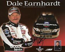 Dale Earnhardt Autographed Signed 8x10 Photo ( HOF ) REPRINT