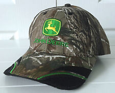 "John Deere Realtree AP Camo Fabric ""Springs"" Hat Cap Adjustable"