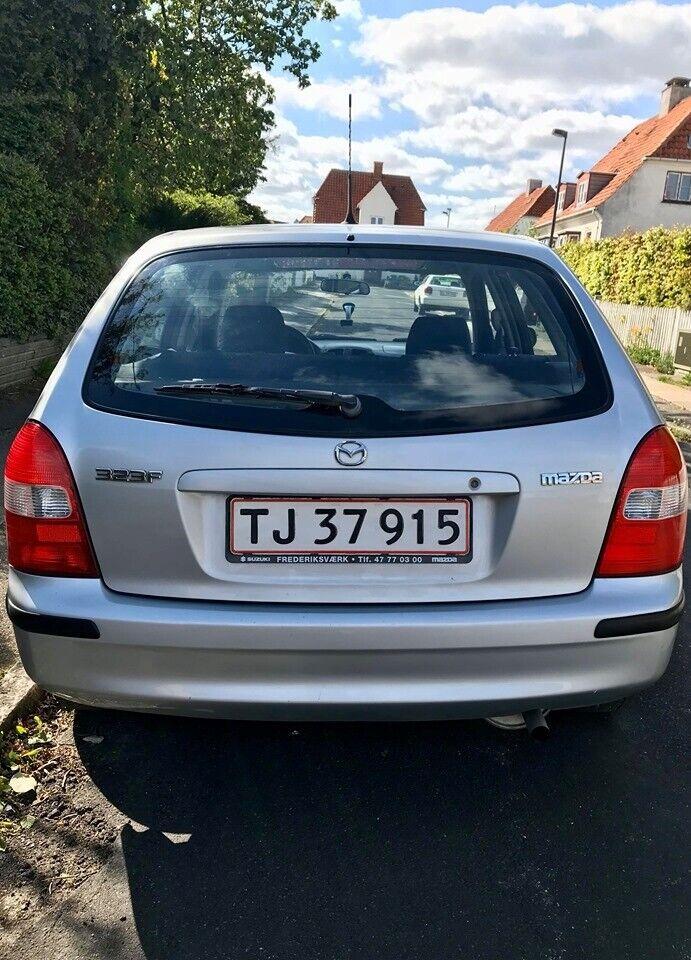 Mazda 323, 1,3 LX, Benzin