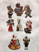 Vintage Wilhelm Schweizer Diesen Germany Bavarian Christmas Ornaments (8)