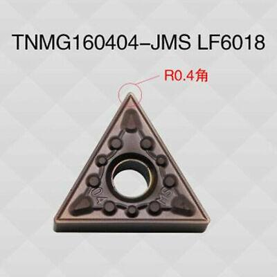10Pcs DESKAR TNMG160404-HS LF6018 TNMG331 CNC Carbide inserts Replace PC9030 New