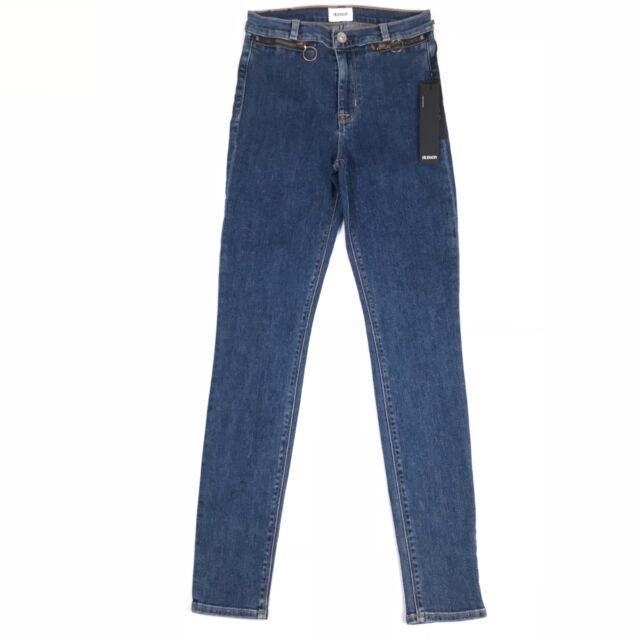 2e93eff4b8e Hudson Womens Jeans Kooper High-Rise Super Skinny Reverie Onew Size 24x29