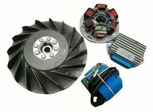 New-Vespa-LML-PX-Flywheel-Cone-12V-Electronic-Ignition-Stator-Non-Electric-start