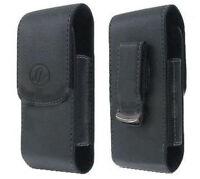Leather Case Pouch Holster For Virgin Mobile Lg Optimus V Vm670, Optimus Elite