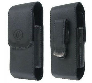 Leather-Case-Pouch-Holster-w-Belt-Clip-for-Verizon-Samsung-Convoy-SCH-U640