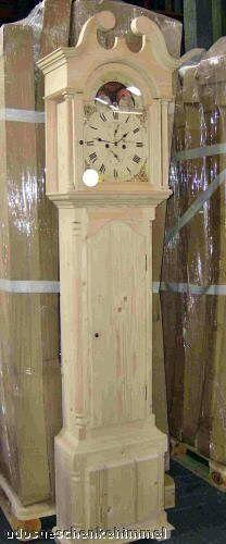 Standuhr Sonderangebot Sonderangebot Sonderangebot Vintage Empire Kiefer Antik Stil Batterie Uhrenkasten c2c9ff