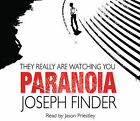 Paranoia by Joseph Finder (CD-Audio, 2005)