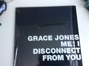 GRACE JONES - Me I disconnect from you - Limited to ONLY 1,000 copies Worldwide!