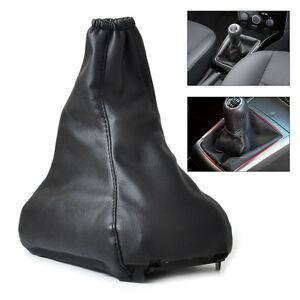 Schwarz-Getriebedeckel-Gamasche-Gear-Shift-Knob-Gaitor-Boot-Fit-Vauxhall-Opel