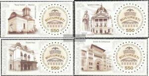 Rumaenien-6393-6396-kompl-Ausg-postfrisch-2009-550Jahre-Bukarest