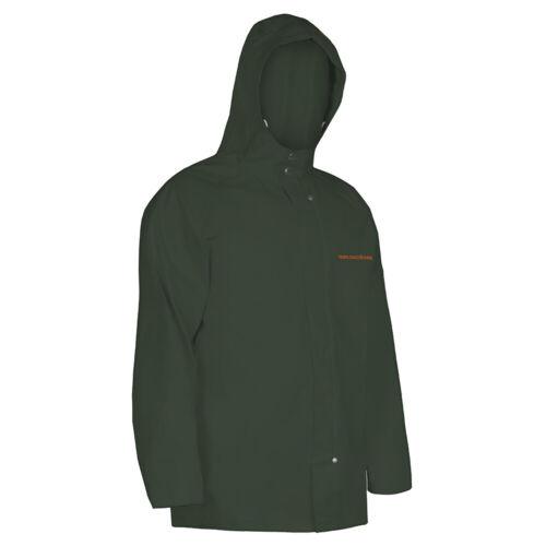 Grundens Shoreman PVC Hooded Jacket SH300 Green