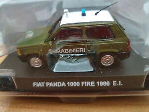 Fiat-Panda-1000-FIRE-1986-E-I-Carabinieri-Scala-1-43-Atlas-Nuovo