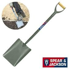 SPEAR AND JACKSON CONCRETE SHOVEL - TUBULAR STEEL TAPER MOUTH NO.2 SHOVEL 2000AC