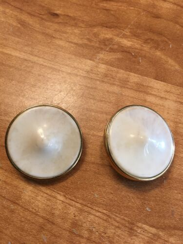 vintage GIVENCHY round clip earrings