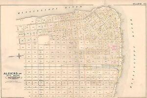1883 E ROBINSON ALGIERS POINT NEW ORLEANS LOUISIANACOPY PLAT