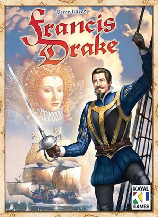 Eagle Games  Francis Drake Board Game (New)