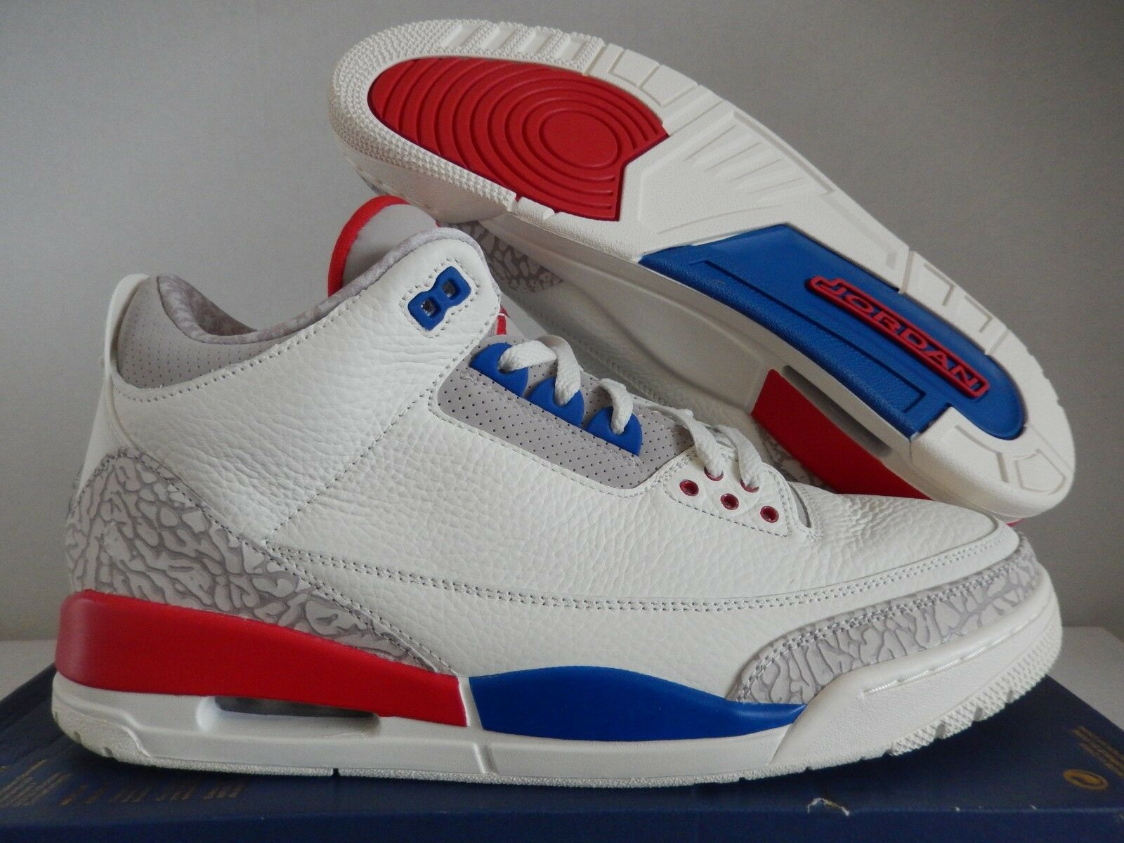 Nike Air Jordan 3 Retro International Charity Game Sail 136064-140 ... ba9e5c643