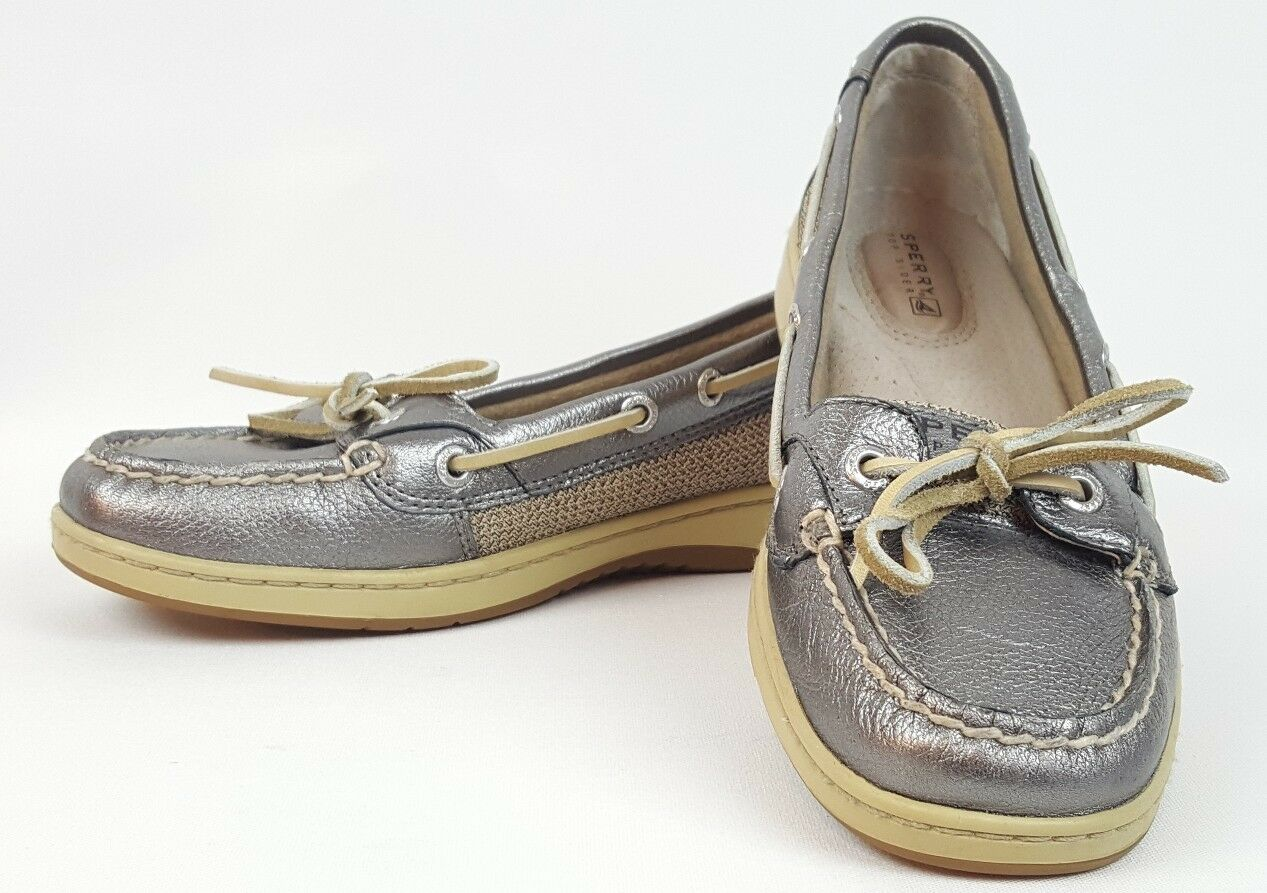 Sperry Top-Sider shoes Womens Size 6.5 Boat shoes Leather Angelfish Style 9102385