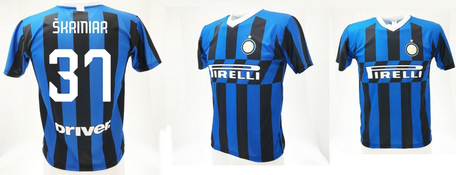 Camiseta Skriniar Inter  2020 Producto Oficial Uniforme Oficial 2019 Milán 37  ofreciendo 100%