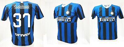 info for 4d97d e95c7 Shirt Skriniar Inter 2020 Official Product Jersey Official 2019 Milan 37 |  eBay
