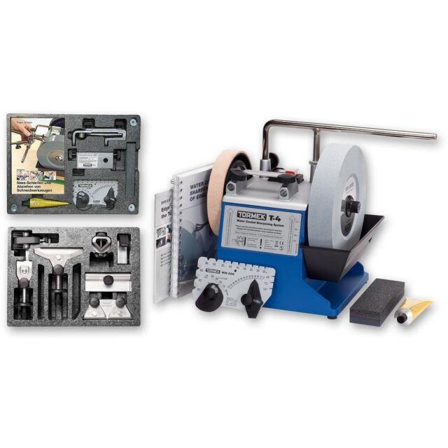 Tormek T-4 Sharpening System, HTK-706 Hand Tool TNT-708 Woodturner's Kits 717661