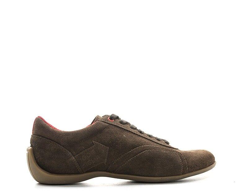 shoes MILLE MIGLIA men Sneakers trendy  brown Scamosciato PILOTCFS