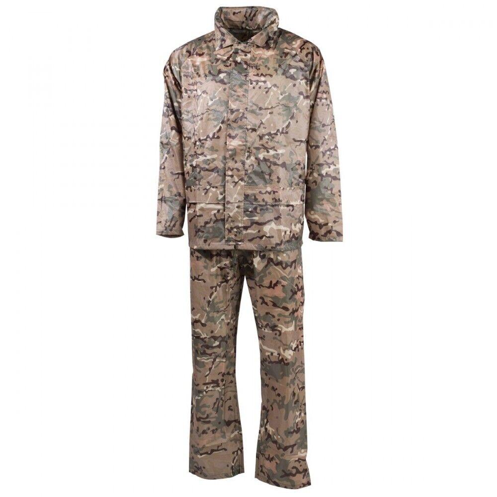 MFH Ensemble imperméable polyester operation-camo différents sizes Pantalon MT