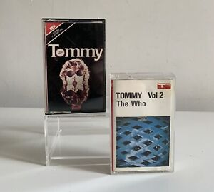 THE WHO TOMMY VOLUME 1 & 2 POLYDOR 1969 CASSETTE TAPES X 2