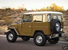 1977 Toyota LAND CRUISER FJ40, Jeep, Rear Angle, Refrigerator Magnet, 40 MIL