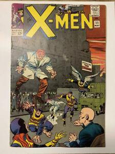 The-X-Men-11-Marvel-Comic-Book-1st-Stranger-VG-FN-Restored