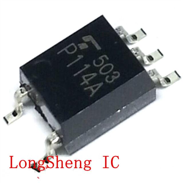 10 PCS TLP114A SMD-5 P114A TLP114 Photo−IC Digital Logic Isolation.