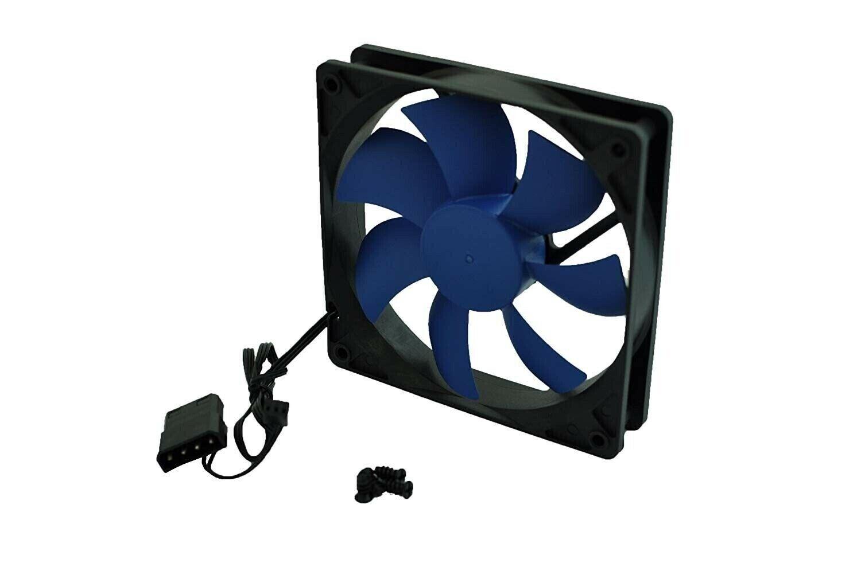 LOT of (8-pcs) Xion AXP-GF120_BL 120mm Case Fan w/4-Screws (3/4 pin)