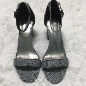 White Block Heel Sandal | eBay