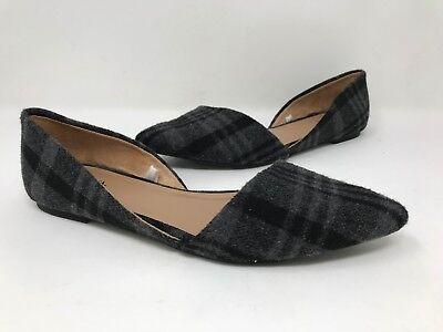 Merona Womens Poppy DOrsay Pointed Toe Ballet Flats