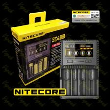 NITECORE SC4 4-Channel Current Smart LCD Battery Charger