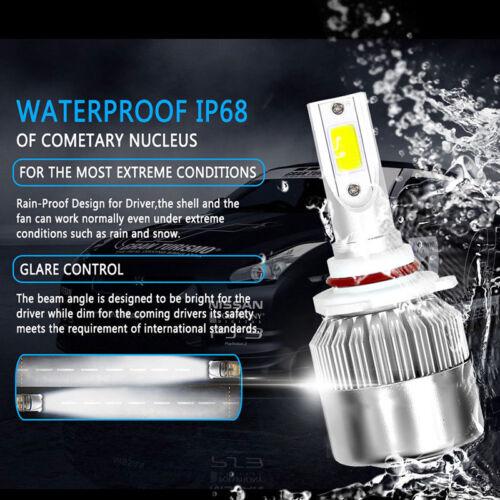 6x 6000K White Blub For Toyota Tundra 07-13 COB LED Headlight Hi//Low+Fog Light