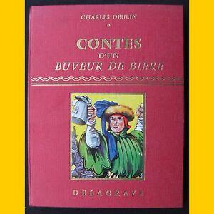 CONTES-D-039-UN-BUVEUR-DE-BIERE-Charles-Deulin-1958