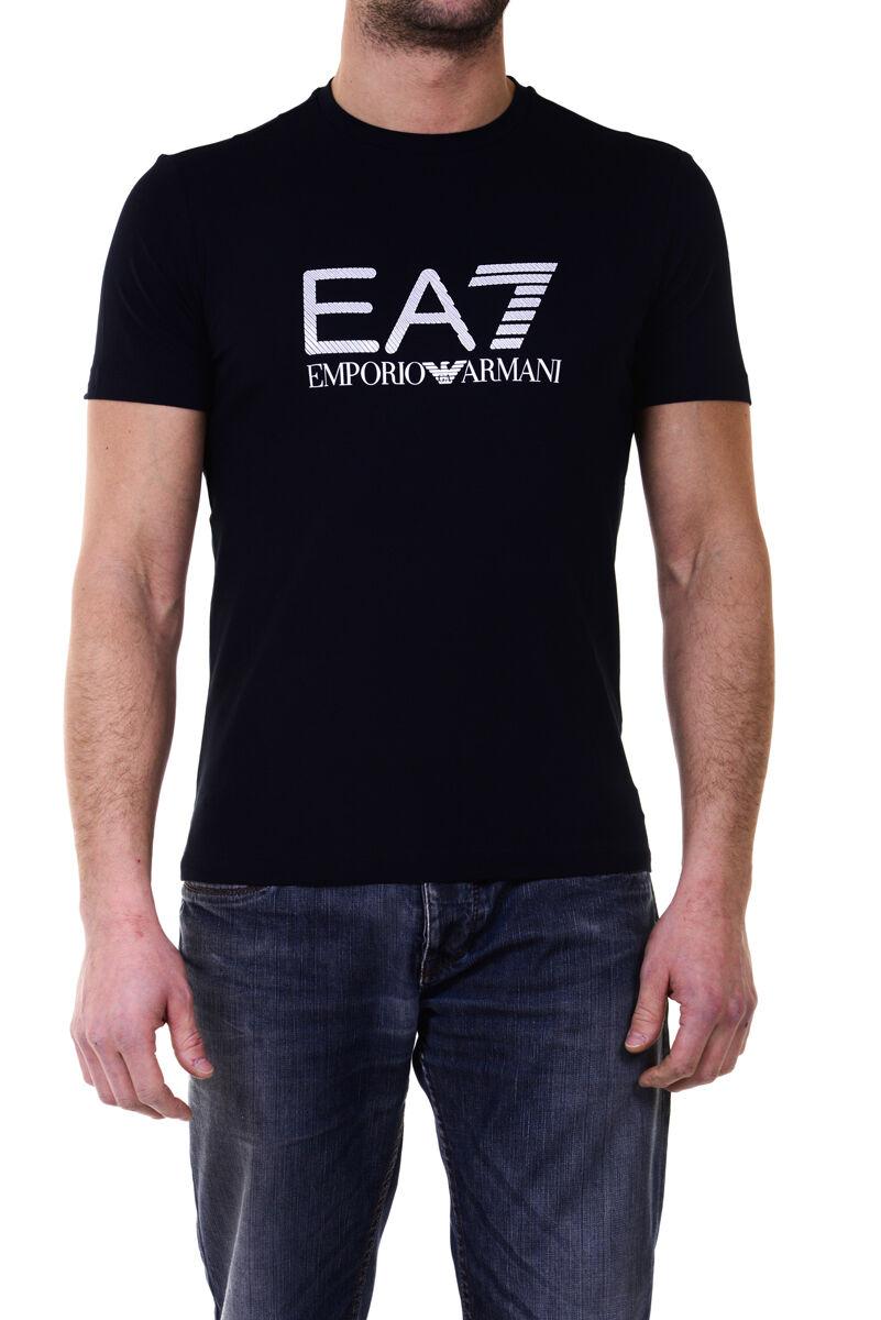 Emporio Armani EA7 T-Shirt Sweatshirt Sz. S Man Blaus 6XPTA6PJ18Z-1578 PUT OFFER