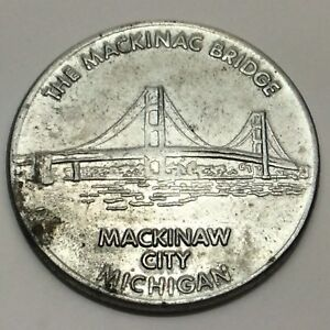 The-Fort-Restaurant-And-Gift-Shop-Mackinaw-City-Michigan-Token-Coin-D677